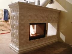 Tiles (tile) for fireplaces, furnaces, grubok, a