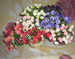 Букет мелких роз