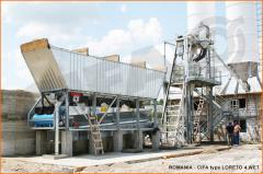 Concrete mixing plant of BSU