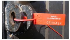 Control plastic seals