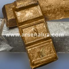 Bronze bezolovyanny foundry