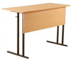 The school desk is school