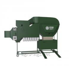 Aerodynamic grain separator ISM - 5 CSC, seed cleaning