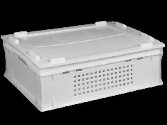 Ящик пластмасовий 600х400х200 (Е2) суцільний