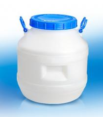 Can for milk, honey of plastic 40 l, gorl.220mm