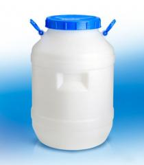 Flask of plastic 60 l for foodstuff and
