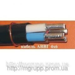Кабель алюминиевый АВВГ 4х6