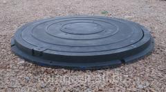 Люк полимерпесчаный  черный, нагрузка 0.8т, с доставкой в Запорожье