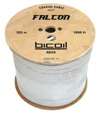 BiCoil coaxial cable RG59 FALCON