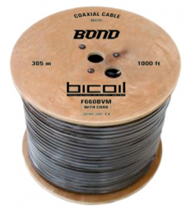 BiCoil coaxial cable F660BVM BOND