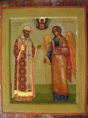 Икона святого Филиппа и архангела Михаила