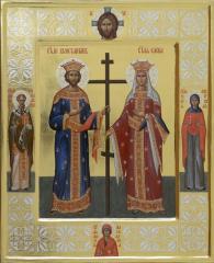 Святые цари Константин и Елена