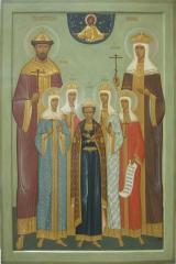 """Икона """"Святые царственные мученики"""" Киев"""
