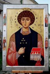 Икона святого великомученика Пантелеимона Киев