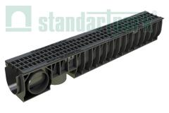 Set: a tray drainage plastic 10.16.15,5 with a