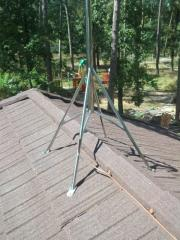 Interception rod stainless steel