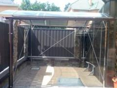 Canopies from stainless steel
