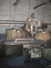Вертикально-фрезерный станок ВМ127 с поворотным