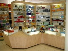Furniture for sale of cosmetics and perfumery, a