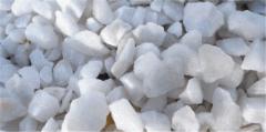 Мраморная крошка белая Тассос 8-12 мм