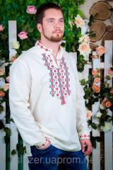 Мужская вышиванка длинный рукав. 100% Котон