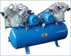 Компрессор К-3  ресивер 500 л; давление 10 Атм;
