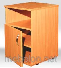 Bedside table with a niche
