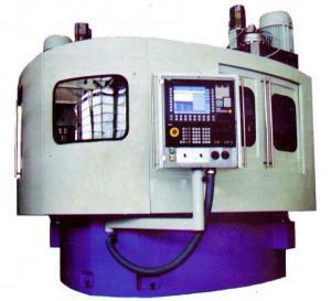 PAB-350 lathe with ChPU vertical dvukhshpindelny