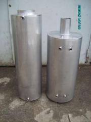 Boilers of indirect heating from a stainless steel