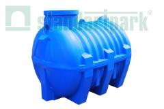 Septic tank of aerobic tertiary treatment 2 m3