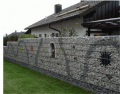 Забор габионный