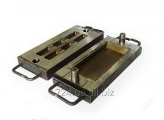 Compression molds for molding from various
