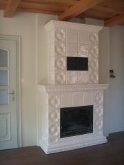 Ceramic (tiled) tile for facing (tiles)