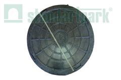 Hatch plastic black d730 Artikul:35730