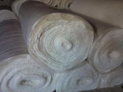Cotton filler of blankets, pillows and mattresses.