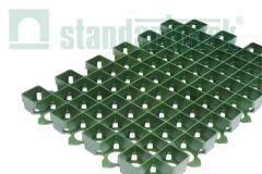 Lattice lawn plastic green 600х400х38