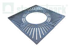 Lattice pristvolny RP - 100.100 pig-iron square -