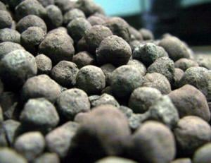 Pellets are iron ore