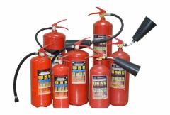 The fire extinguisher in assortmen