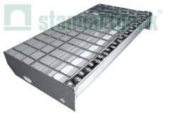 Step welded 34х38/30х2/800х240 WITH