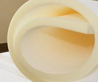 Foam rubber of white 50 mm (1.2 x 2 m)