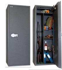 The safe for the TSS 160M/K3 weapon on 3 trunks