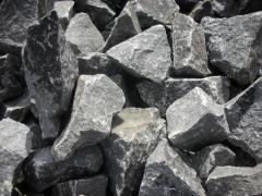 Quarrystone granite, stone of rubble