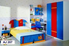 Детская мебель: кровать, стол, тумбочка, шкаф,