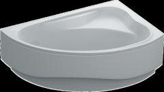 Bathtub acrylic asymmetric Swan Santa 150х100х39 +