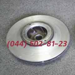 Pump NTs-60/125 wheel, NTs-60/125 driving