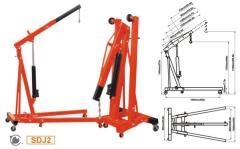 The crane arrow hydraulic Shop Crane - SDJ2