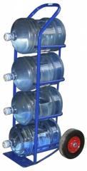 Тележка для бутылей и баллонов с питьевой водой RR210B4