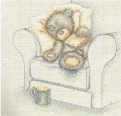 наборы для вышивания разнообразные с Киева, Тедди
