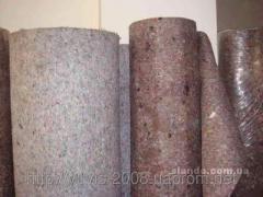 The thermopressed felt 500 of g/m2 (Kharkiv)